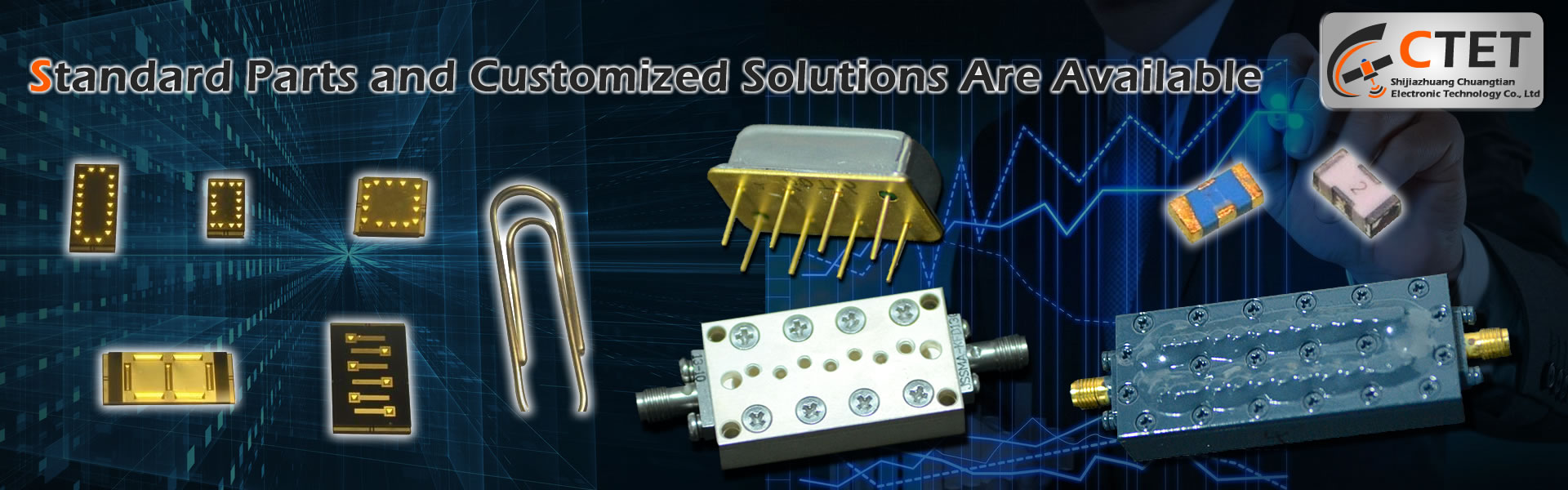 Standard Parts and Customized Solutions Are Available