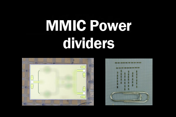 MMIC Power dividers